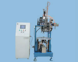Disc Brush Tufting Machine